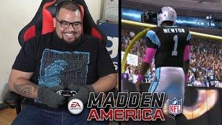 getlinkyoutube.com-Eric 'Problem' Wright Schools Dave Grunfeld in MITTENS | Madden 17 Gameplay | Madden NFL America