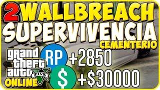 getlinkyoutube.com-Gta 5 Online - Dos Wallbreach en Supervivencia Cementerio - Gta 5 Online Glitch