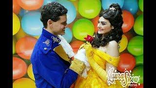 getlinkyoutube.com-PRINCESAS DISNEY - Vamos agitar a sua festa infantil www.laurashow.com.br