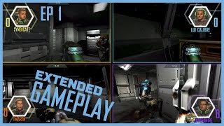 Ep 1 Full Gameplay | DOOM 3 | Luicalibre vs Jovenshire vs TmarTn vs Syndicate | LOG