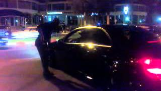 getlinkyoutube.com-Mercedes C63 AMG HARD REV + Acceleration - TANGIER(MOROCCO)