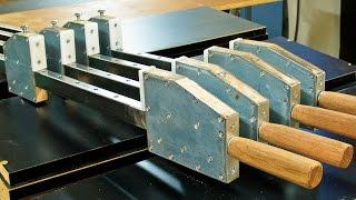 getlinkyoutube.com-Homemade bar clamps