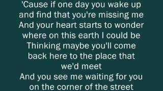 The Script   The Man Who Can't Be Moved Lyrics