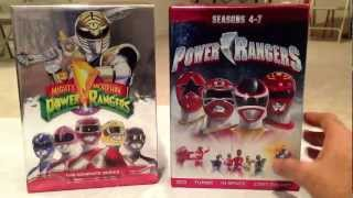 getlinkyoutube.com-Power Rangers Seasons 4-7 DVD Set