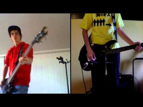 Blink 182 - Degenerate  Collab cover (Guitar and Bass)