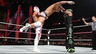 getlinkyoutube.com-Sin Cara(Mistico) & Rey Mysterio Vs. Tag Team Match