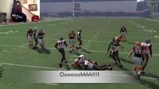 getlinkyoutube.com-Can I Do a 99Yd Touchdown Run with the Slowest RB in the NFL James Wilder? Madden 16 Gameplay