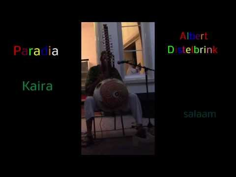 Kaira (Peace, Paix, Salaam, Shalom, Paz, Shanti, Vrede) on the Kora by Albert Distelbrink