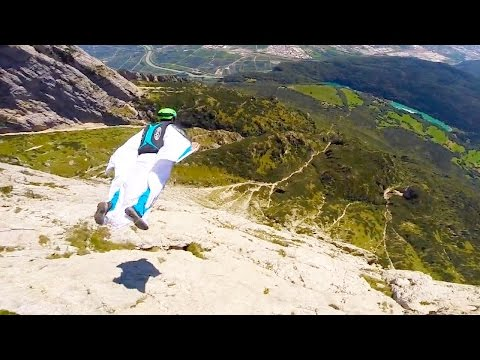 Paganella Wingsuit BASE | Wes Burrows & Anton Squeezer