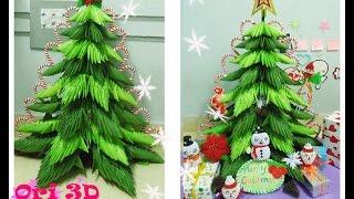 getlinkyoutube.com-Tutorial 3D Origami Christmas Tree - Hướng dẫn xếp cây thông Origami 3D