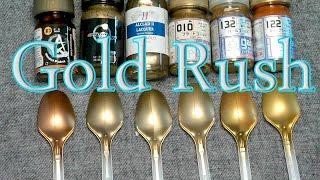 getlinkyoutube.com-GunplaVsDoll - Gold Rush - Gunpla Paint Test