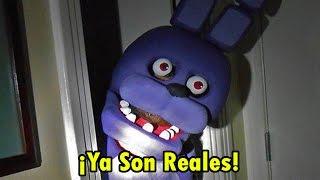 getlinkyoutube.com-Animatronicos Reales En Five Night At Freddys: La Pelicula