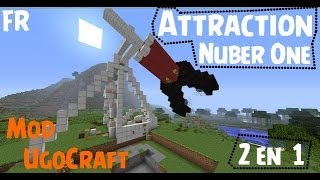 getlinkyoutube.com-TuTorial//Attarction A Sensation Mod UgocCraft//Minecraft//Attraction 2en1 !!