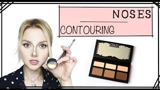 getlinkyoutube.com-How to Contour Noses - PART 9 (Contouring Series)