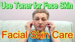getlinkyoutube.com-How to Use Toner for Face Skin👱 - Proper Facial Skin Care at Home🏡