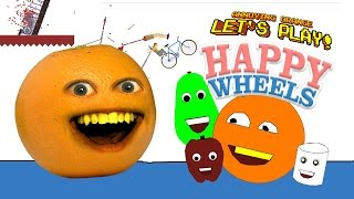 Annoying Orange - Happy Wheels: ANNOYING WHEELS!