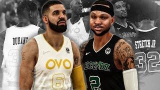 NBA 2K18 MyCAREER - (NBA Streets League) #1 | Me & Drake Team HEADLINE THE BEST SQUADS!