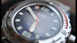 getlinkyoutube.com-Обзор часов Восток Амфибия 100722S Спецсерия.