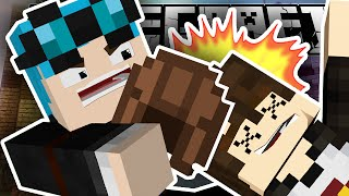 getlinkyoutube.com-Minecraft | KILLED WITH A LEATHER HELMET!!