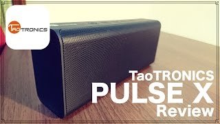 getlinkyoutube.com-TaoTRONICS 最新高音質Bluetoothスピーカー PULSE X レビュー