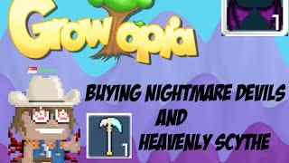 getlinkyoutube.com-Growtopia | Buying Nightmare Devils and Heavenly S