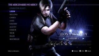 getlinkyoutube.com-(PC) Re6 Mods-Leon-Re4