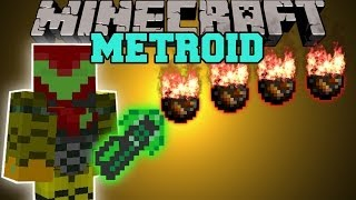 getlinkyoutube.com-Minecraft: METROID MOD (WORLD KILLER, POWER SUITS, BEAMS, & MORE!) Mod Showcase