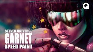 GARNET - STEVEN UNIVERSE / TIMELAPSE