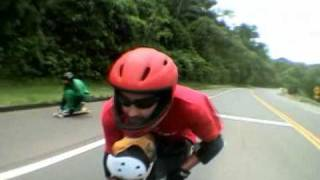 getlinkyoutube.com-Skate longboard downhill speed Murilo da Grama action Aguas