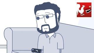 getlinkyoutube.com-Burnie Gets Busted – Rooster Teeth Animated Adventures 4K