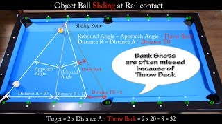 getlinkyoutube.com-Bank Shots in Sliding Zone Drill - Aiming with Diamond System - Pool & Billiard training lesson