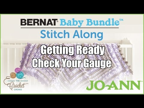 Bernat Baby Bundle Stitch Along - Gauge Check