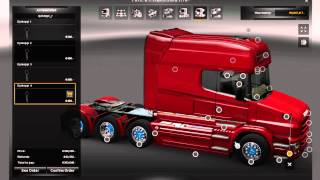 getlinkyoutube.com-Euro Truck Simulator 2 Full HD Scania T730 S. Verbeek 1.3