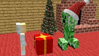 getlinkyoutube.com-Monster School: Christmas Presents - Minecraft Animation