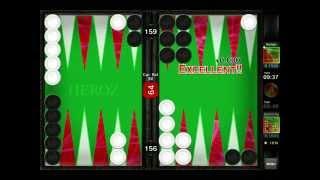 getlinkyoutube.com-Mochy plays Backgammon Ace 20150726