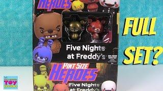 getlinkyoutube.com-Five Nights At Freddys FNAF Funko Pint Size Heroes Blind Bags Opening | PSToyReviews