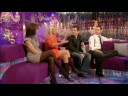andrea mclean in black semi opaque tights 1