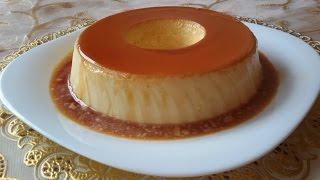 getlinkyoutube.com-أبسط طريقة لتحضير كريم كراميل بحجم العائلي في الفرن | How to make a cream caramel