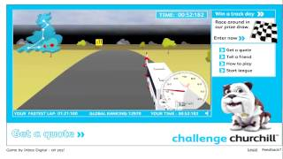 Challage Churchill - A Bus Driving Game