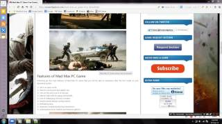 getlinkyoutube.com-how to install mad max without any error 100% working