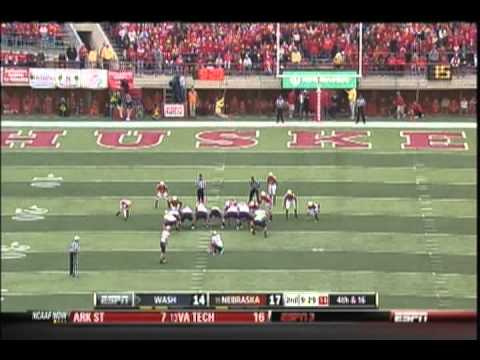 (9-17-2011) Washington Huskies vs. Nebraska Cornhuskers football