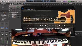 getlinkyoutube.com-How to Play VST Guitar on Keyboard using AmpleSound AGT
