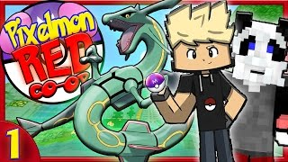 """getlinkyoutube.com-PIXELMON RED CO-OP Episode 1 - """"KING KONG AND A RAYQUAZA!""""►Pixelmon Roleplay Survival Server!"""