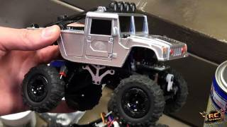 getlinkyoutube.com-RC ADVENTURES - TEDS GARAGE - Scaler, Micro Crawler, Berg, & a Broken HPI Savage XS