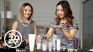 getlinkyoutube.com-Jenn Im Learns Sophia Chang's Skincare Routine | Dear LA | Refinery29