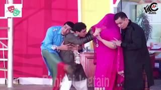 Zafri Khan Best Comedy Sence Pakistani Stage Drama HD