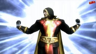getlinkyoutube.com-Injustice Gods Among Us Shazam Arcade Ladder playthrough with final boss fight and ending