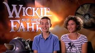 getlinkyoutube.com-Wickie auf großer Fahrt  Valeria und Jonas Interview