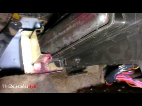 Замена радиатора печки на КАЛИНЕ без снятия панели [TheReisenderHell]