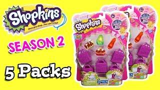 getlinkyoutube.com-Shopkins Season 2 - Five Packs #4